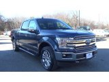 2018 Blue Jeans Ford F150 Lariat SuperCrew 4x4 #130830303