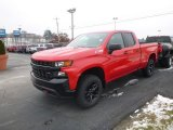 2019 Red Hot Chevrolet Silverado 1500 Custom Z71 Trail Boss Double Cab 4WD #130841515