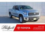 2019 Silver Sky Metallic Toyota Tundra SR5 CrewMax #130841544