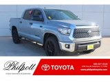 2019 Cement Toyota Tundra TSS Off Road CrewMax #130865890