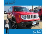 2017 Colorado Red Jeep Renegade Limited 4x4 #130865666