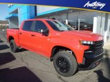 2019 Red Hot Chevrolet Silverado 1500 LT Z71 Double Cab 4WD #130865999