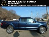 2019 Blue Jeans Ford F150 Lariat SuperCab 4x4 #130865751