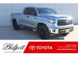 2019 Silver Sky Metallic Toyota Tundra TSS Off Road Double Cab 4x4 #130865892