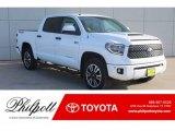 2019 Super White Toyota Tundra SR5 CrewMax 4x4 #130865891