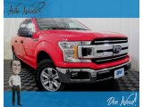 2018 Race Red Ford F150 XLT SuperCrew 4x4 #130889405
