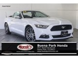 2017 Oxford White Ford Mustang EcoBoost Premium Convertible #130889294