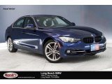 2017 Mediterranean Blue Metallic BMW 3 Series 330i Sedan #130889369
