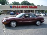 Bordeaux Red Pearl Buick LeSabre in 1997