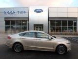 2018 White Gold Ford Fusion Titanium AWD #130918386