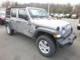 2019 Jeep Wrangler Unlimited Billet Silver Metallic