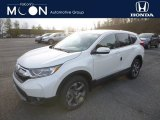 2018 White Diamond Pearl Honda CR-V EX AWD #130918374