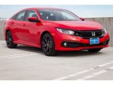 2019 Rallye Red Honda Civic Sport Sedan #130918316