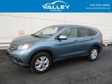 2014 Mountain Air Metallic Honda CR-V EX AWD #130918061