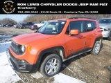 2018 Omaha Orange Jeep Renegade Latitude 4x4 #130918139