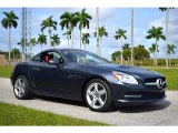 2014 Steel Grey Metallic Mercedes-Benz SLK 250 Roadster #130952830