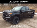 2019 Black Chevrolet Silverado 1500 Custom Z71 Trail Boss Double Cab 4WD #130952781