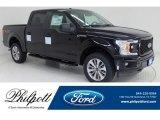 2018 Shadow Black Ford F150 STX SuperCrew 4x4 #130952735