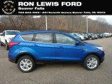 2019 Lightning Blue Ford Escape SEL 4WD #130952590