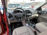 2019 Ford Escape SEL 4WD Medium Light Stone Interior