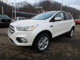 2019 Ford Escape White Platinum