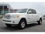 2005 Natural White Toyota Tundra SR5 TRD Double Cab 4x4 #13085032