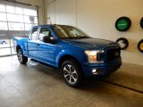2019 Velocity Blue Ford F150 STX SuperCab 4x4 #130983805