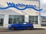 2019 Agean Blue Metallic Honda Civic Sport Sedan #130983787