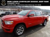 2019 Flame Red Ram 1500 Big Horn Crew Cab 4x4 #130983930