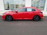 2019 Rallye Red Honda Civic EX Hatchback #130983784