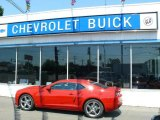 2010 Victory Red Chevrolet Camaro SS Coupe #13075249