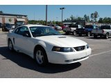 2002 Oxford White Ford Mustang V6 Coupe #13084215