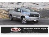 2019 Silver Sky Metallic Toyota Tundra Platinum CrewMax 4x4 #130983713