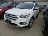 2019 White Platinum Ford Escape SEL 4WD #131009803