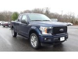 2018 Blue Jeans Ford F150 STX SuperCab 4x4 #131009874