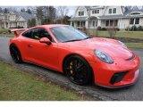 2018 Porsche 911 Lava Orange