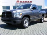 2008 Mineral Gray Metallic Dodge Ram 1500 ST Regular Cab #13079751