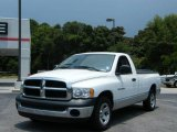 2003 Bright White Dodge Ram 1500 ST Regular Cab #13076596