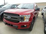 2018 Ruby Red Ford F150 XLT SuperCrew 4x4 #131048208