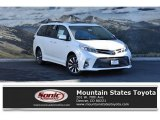 2019 Blizzard Pearl White Toyota Sienna Limited AWD #131047921