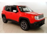 2017 Colorado Red Jeep Renegade Limited 4x4 #131072979