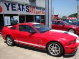 2007 Torch Red Ford Mustang Shelby GT500 Coupe #13072236