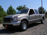 2004 Arizona Beige Metallic Ford F250 Super Duty XLT Crew Cab #13080768