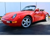1996 Porsche 911 Carrera Cabriolet Data, Info and Specs