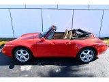 1996 Porsche 911 Guards Red