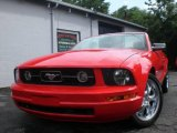 2006 Torch Red Ford Mustang V6 Premium Convertible #13079069