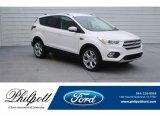 2019 White Platinum Ford Escape Titanium #131109643