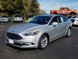 2017 Ingot Silver Ford Fusion Hybrid SE #131109715