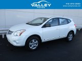 2013 Pearl White Nissan Rogue S AWD #131109551