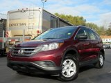 2013 Basque Red Pearl II Honda CR-V LX #131109529